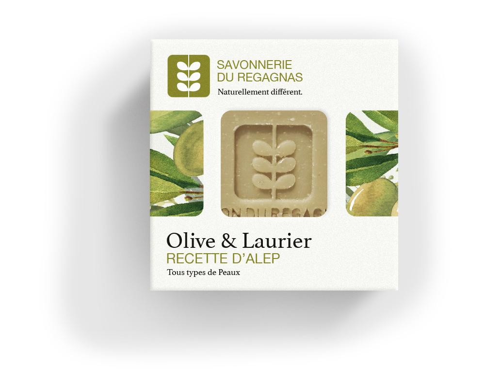 Savon olive & laurier