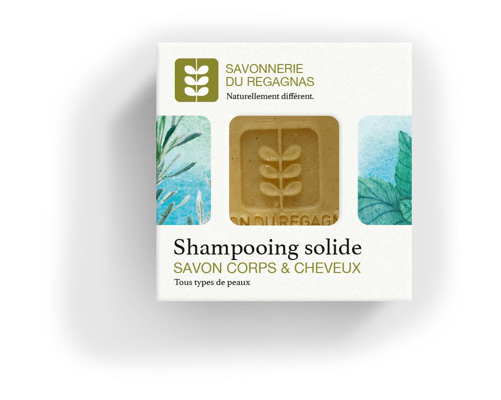 Savon shampoing solide